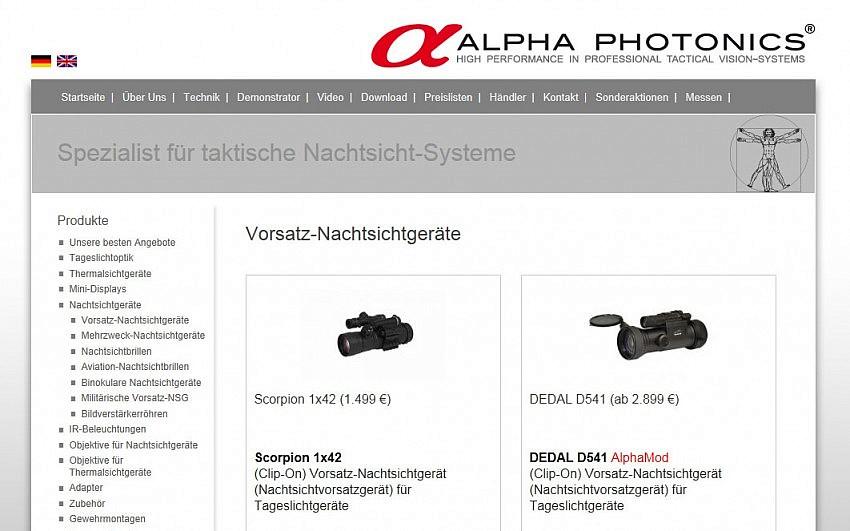 Alpha Photonics