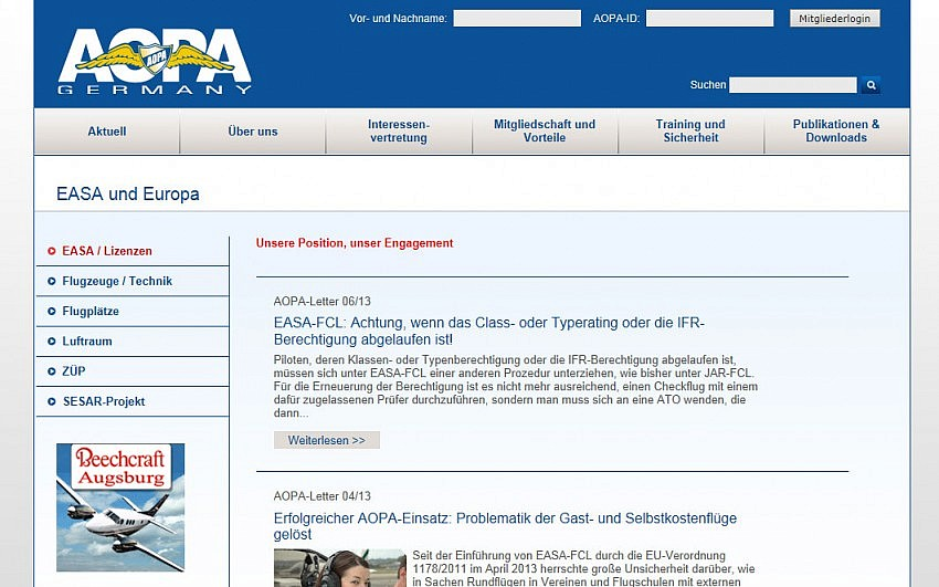 AOPA Germany