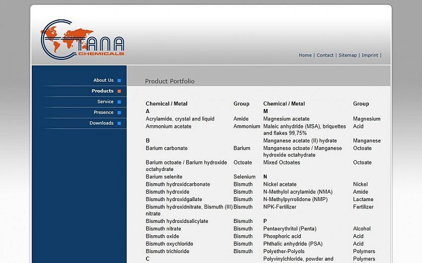 ETANA Chemicals